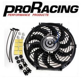 Electric Radiator Fan with Fitting Kit - PRO Racing