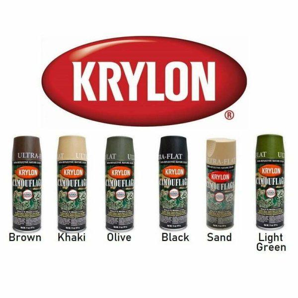 Camo Spray Paint Cans NZ