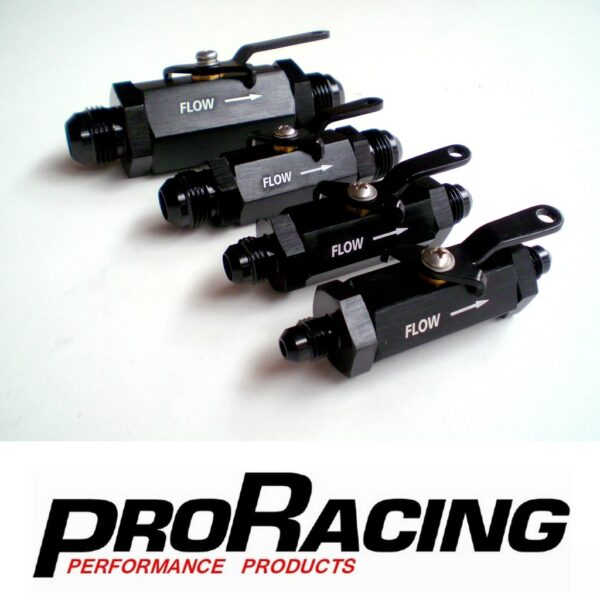 PRO Racing Shut Off Valves