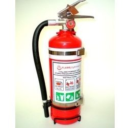 Double Bracket 2kg Fire Extinguisher